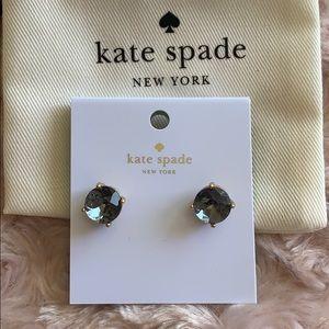 Kate Spade Black Gumdrop Earrings